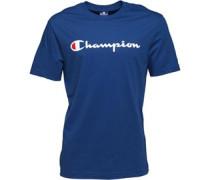 Herren Logo T-Shirt Blau