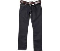 Firetrap Herren Gambit Jeans mit geradem Bein Blau