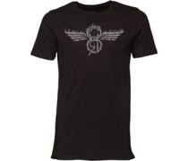 Herren Cabrillo T-Shirt Schwarz