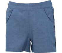 Mädchen Shorts Blau Chambray