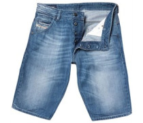 Diesel Herren 839C Denim Shorts Blue Denim