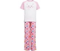 Board Angels Mädchen PJ Pant Set Nachthemd Mehrfarbig