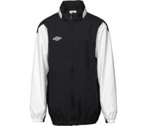 Umbro Junior Shower Jacket Black/White