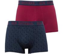 Herren Ivor 2 Packung Boxershorts Multi