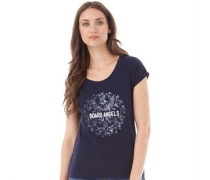 Board Angels Damen T-Shirt Blau