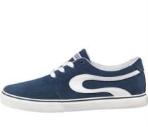 Slide Wildleder Skaterschuhe Blau