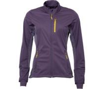 adidas Womens Xperior Windproof Soft Shell Ski Jacket Ash Purple