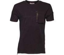 Herren Fabian T-Shirt Jet Black