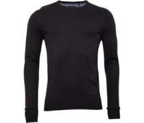 Brave Soul Mens Parsec Jumper Dark Grey