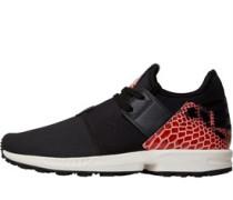 Herren ZX Flux Plus Sneakers Core Black/Cinder/Red