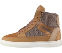 Herren Chain Sneakers Hellbraun
