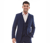 Plain Ticket Blazer Navy