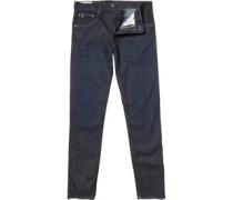 Ben Sherman Herren The Dingley Dry Rub Skinny Jeans Dry Rub Indigo