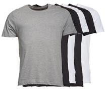 Herren Harris C 5 Packung T-Shirt Mehrfarbig