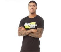 Cable T-Shirt Schwarz