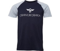 Creative Recreation Herren Bleeker T-Shirt Blau