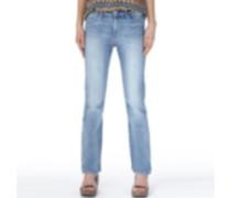 Levi's Damen Classic Demi Curve Sunday Jeans in Slim Passform Blau