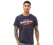 Denim Logo T-Shirt Navy
