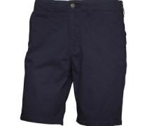 Herren Base Twill Chino Shorts Blau