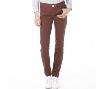 adidas Neo Damen Skinny Jeans Braun