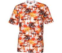Dickies Herren Honolulu T-Shirt Rot