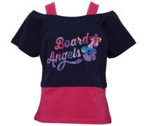 Board Angels Mädchen T-Shirt Dunkelblau