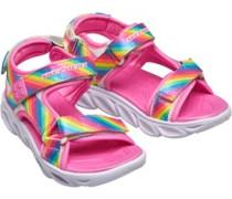 S Lights Hypno-Flash Rainbow Lights Sportsandalen Rosa