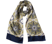 Ted Baker Mens Dazzys Oversized Scarf Green