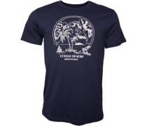 Postcard T-Shirt Navy