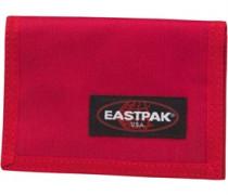 Herren Crew Single Brieftasche Rot