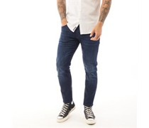 Rawling Jeans in Slim Passform Dunkel Navy