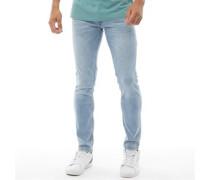 Buraca Skinny Jeans Verwaschenes