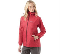 Damen Deluge Hydroshell Light Shell Performance Jacke Pink