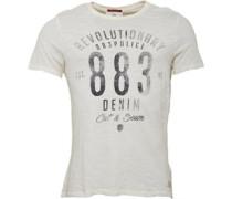 Herren Kanos T-Shirt Ecru