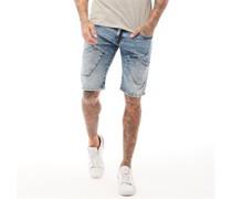Sidi Denim Shorts Verwaschenes