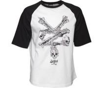 Herren Mariano Raglan Baseball T-Shirt Weiß