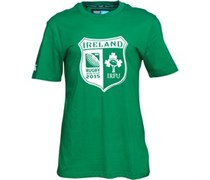Canterbury Herren IRFU Ireland Shield IRFU Ireland T-Shirt Grün