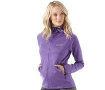 Damen Strandhall Fleece Lila