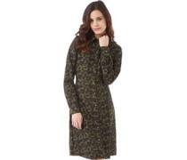 Damen Lexis Midi Length Kleid Grün