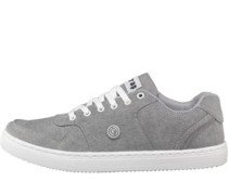 Herren Slice Sneakers Grey Canvas