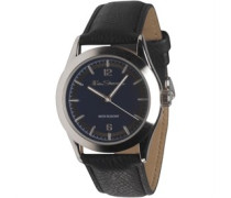 Herren Quartz Armbanduhr Schwarz