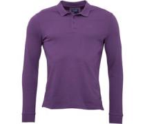 Herren Polohemd Purple