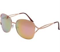 Fashion Sonnenbrille Rosa-Gold