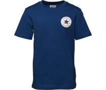 Converse Junior CTP Left Chest T-Shirt Roadtrip Blue