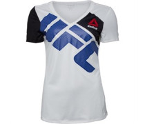 Reebok Womens UFC Jersey Custom Y White