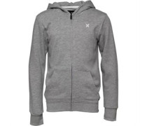 Hurley Junior French Terry Hoody Dark Grey Heather