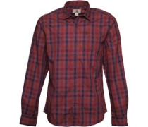 Timberland Mens Smart Dobby Checked Long Sleeve Shirt Multi