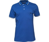 French Connection Herren Tipped Polohemd Blau