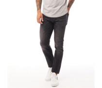 Barbeck Jeans in Slim Passform Verwaschenes