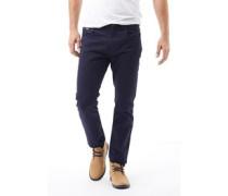 Herren Jeans mit geradem Bein Blau
